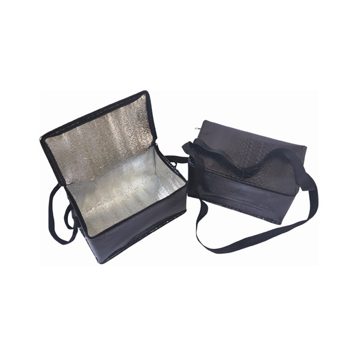 Wholesale Insulated Snakeskin Pattern Preservable laminated Cooler lunch bag with double handles, Insulated Snakeskin Pattern Preservable laminated Cooler lunch bag with double handles Manufacturers, Insulated Snakeskin Pattern Preservable laminated Cooler lunch bag with double handles Producers