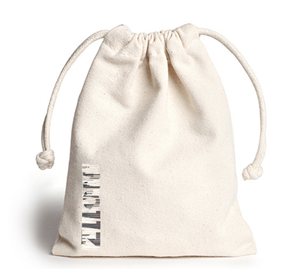 Wholesale Custom Logo Cotton Canvas Drawstring Tote Bag