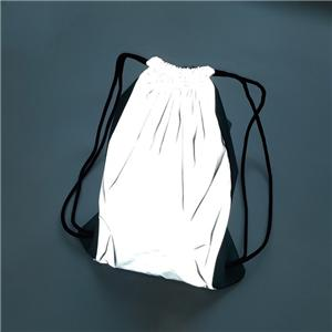 Polyester Nylon Safe Drawstring TC Reflective Bag