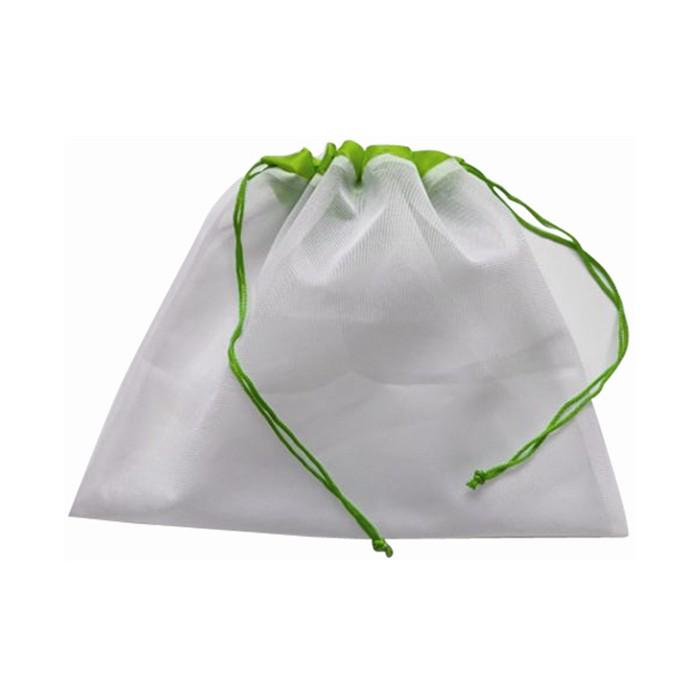 Quality Double Ropes Mesh Net Supermarket Fruits Shopping Bag