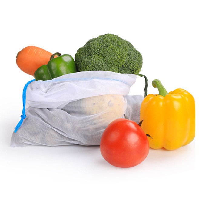 Supermarket Fruit and Vegetables Mesh promotional string bags