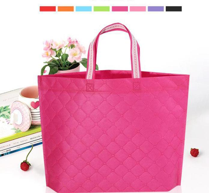 Wholesales custom logo non woven bags shopping bags