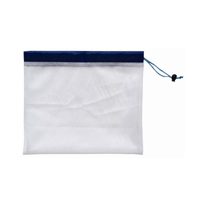 Reusable fruit mesh strainer drawstring bag