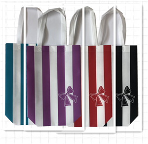 Custom Logo Lamination PP Woven Shopping Bag