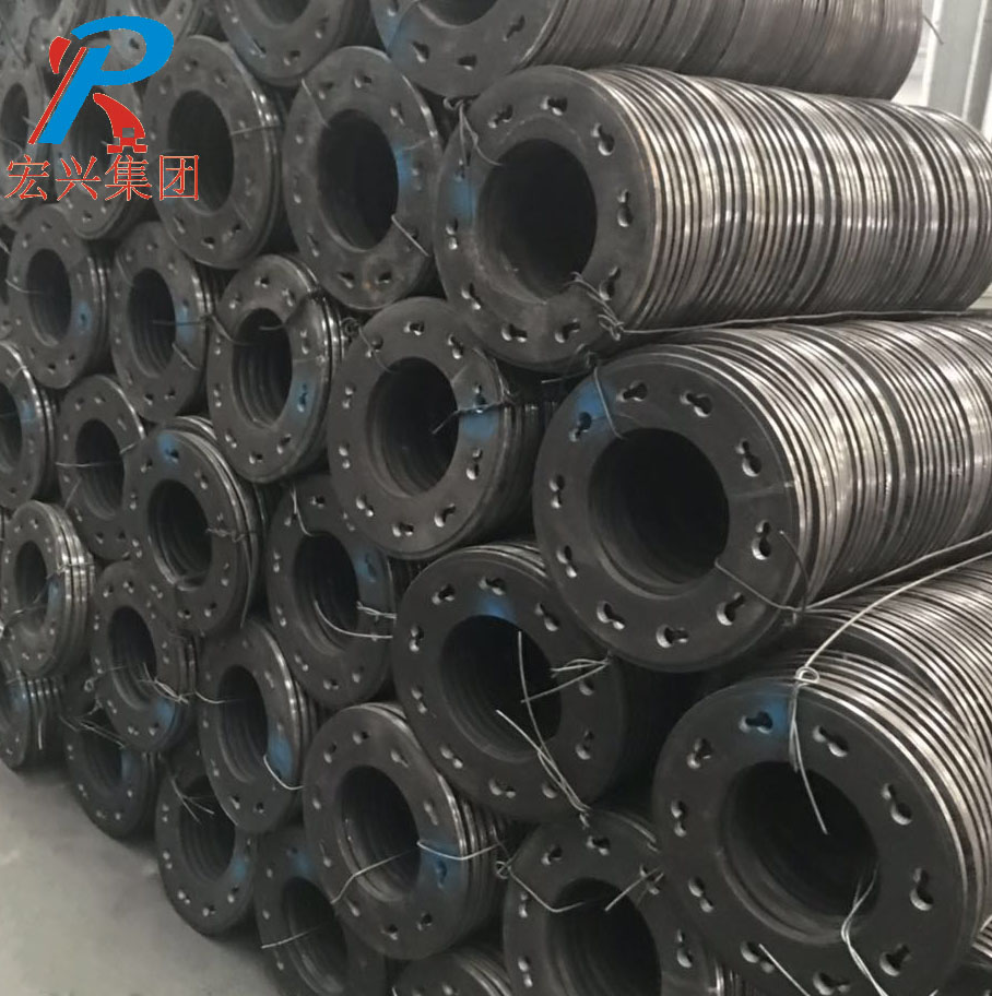 Steel End Flange Plate With Holes
