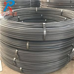 PC Steel Bar In Coil With Screw Type Thread On Surface