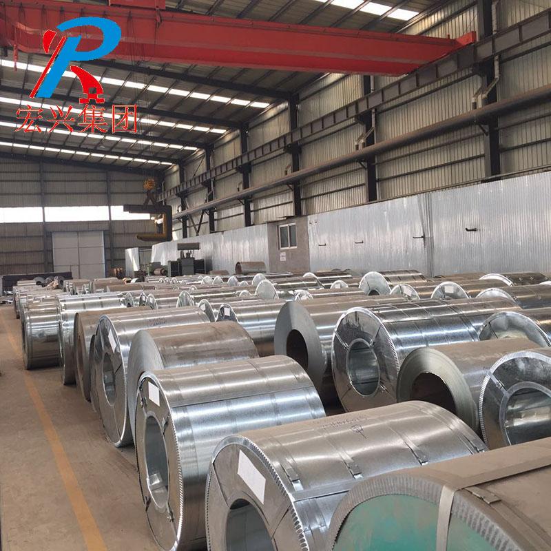 Z275 galvanized steel coils