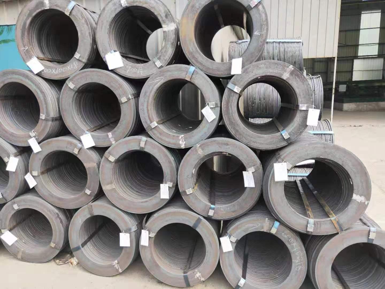 steel end plate blank