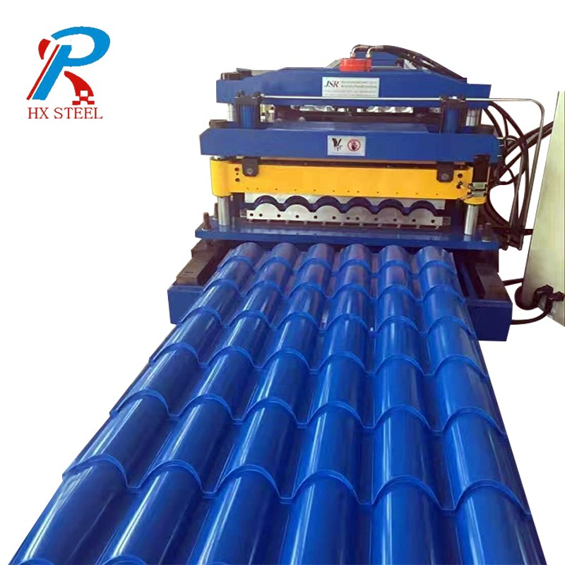 Roof panel roll forming machines
