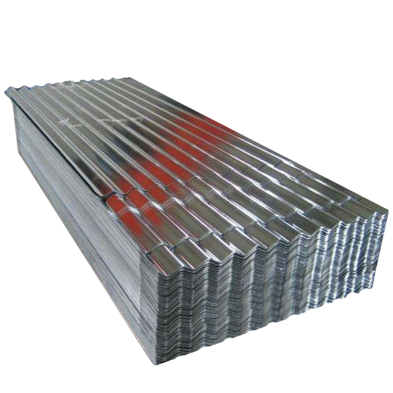 SPCC corrugated galvanized roofing steel sheet