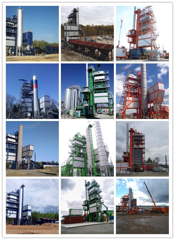 TTM Asphalt Mixing Plant in Russia