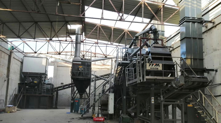 On the eve of the Spring Festival TTM Another Set of RAP Asphalt Mixing Plant Was Settled in Beijing