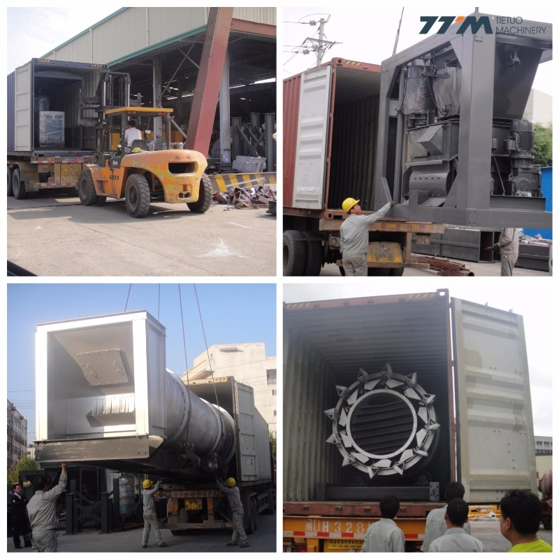 160t/h asphalt mixing plant