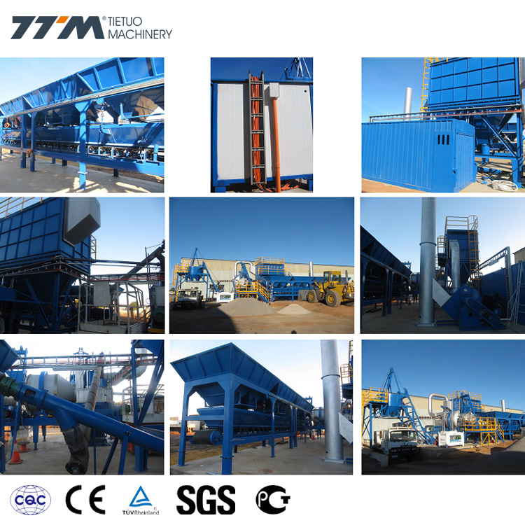 Portable Asphalt Mixing Plants