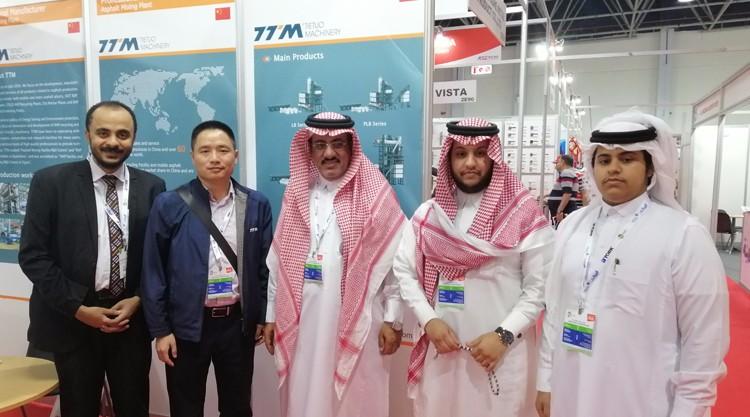 TTM asistió a la exposición Saudi BIG5