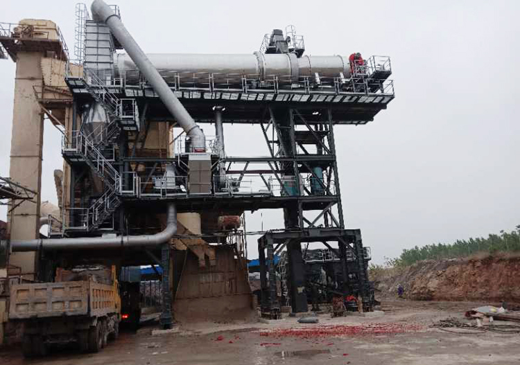 TTM Asphalt Hot Rap Recycling Plant Preforms Well