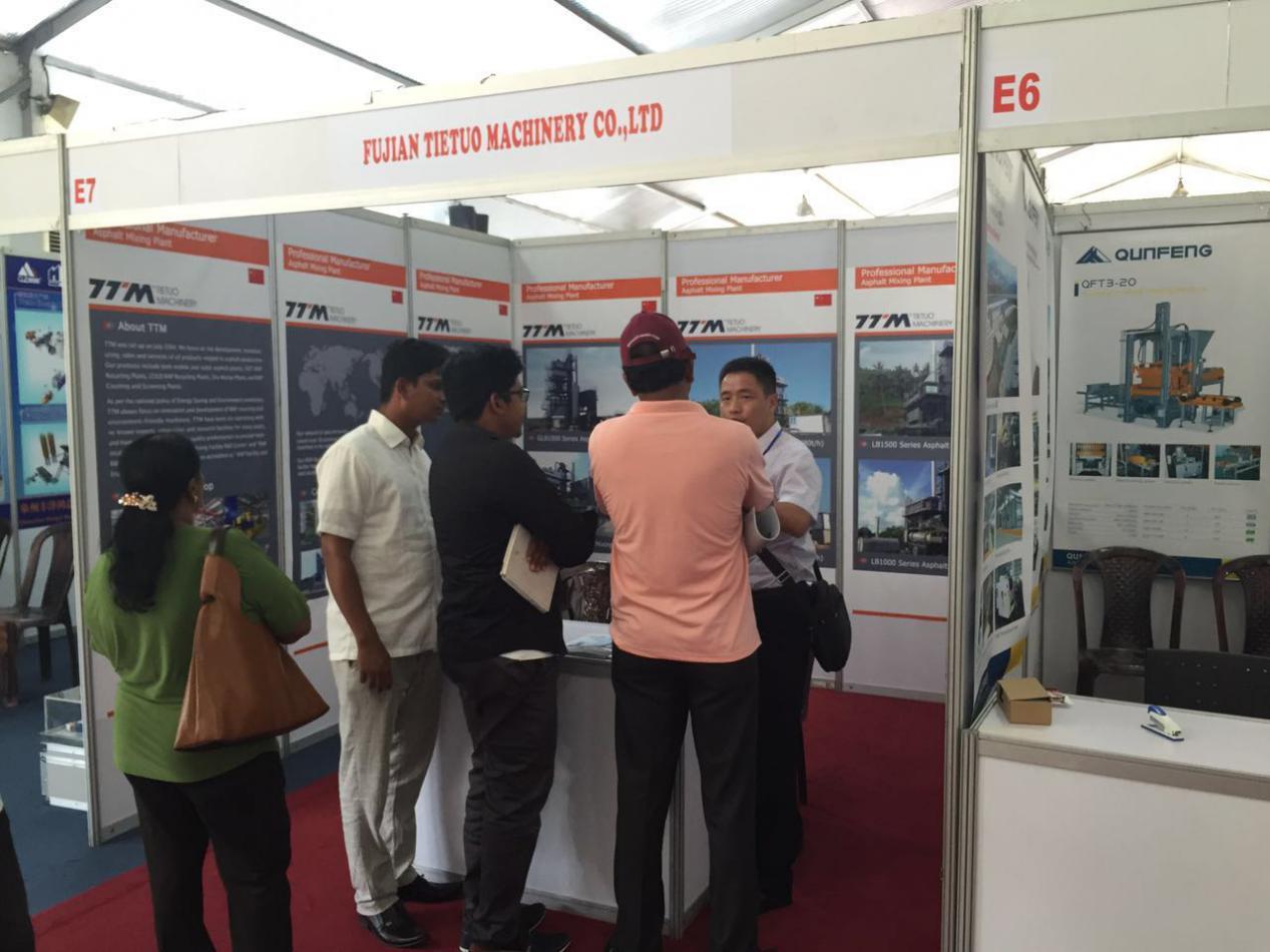 TTM company attended Sri Lanka Construct 2017