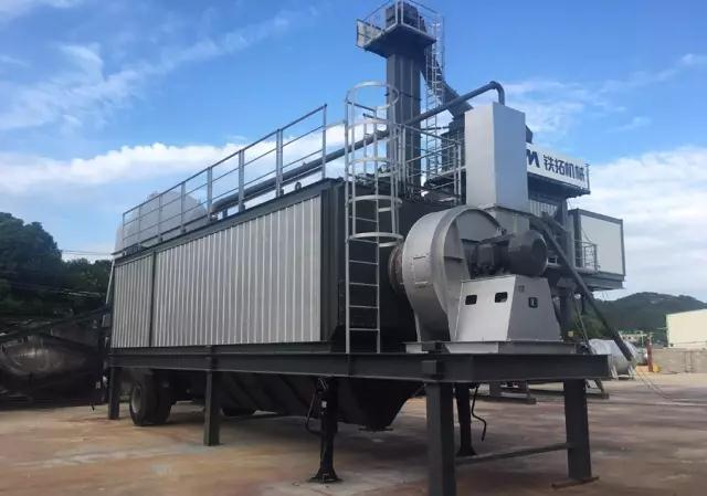 TTM Company Mobile YLB Series Asphalt Mixing Plant Successfully roll off the line