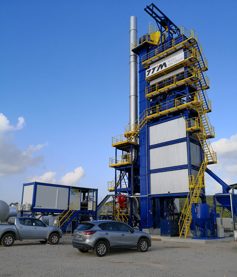 One More Set of TTM Mixing Asphalt Plant Settle in Malaysia