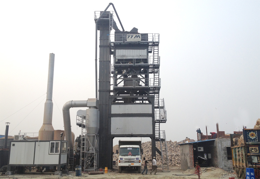 The fifth set of TTM asphalt mixing plant  for old customers in Bangladesh