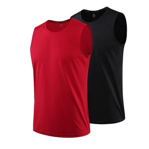 Sleeveless Shirt for Men Running Gym Basketball Muscle Bodybuilding Undershirt