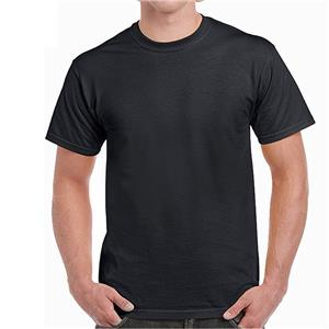 Men's cotton loose-fitting undershirt, breathable and comfortable short-sleeved T-shirt