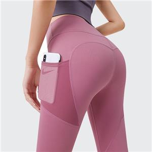 Seamless Women's Pants with Pocket Fitness Yoga Sweatpants Women's Yoga Leggings