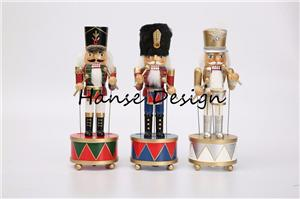 Nutcracker with music box