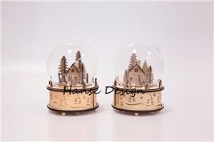 Christmas wooden decoration with music box Manufacturers, Christmas wooden decoration with music box Factory, Supply Christmas wooden decoration with music box