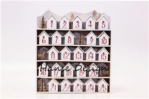 Colorful painted wooden advent calendar Manufacturers, Colorful painted wooden advent calendar Factory, Supply Colorful painted wooden advent calendar