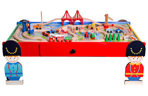 Giant wooden train railway set with table Manufacturers, Giant wooden train railway set with table Factory, Supply Giant wooden train railway set with table