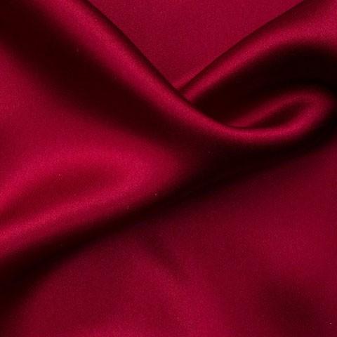 Satin de soie élastique de 19 mm