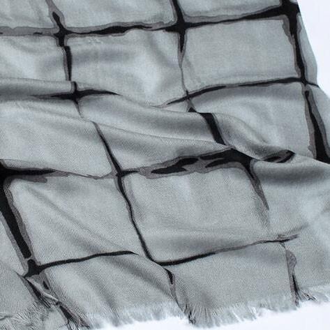 Écharpe 100% cachemire de 135 * 135 cm