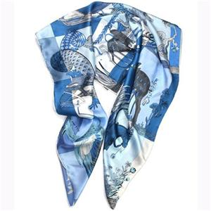 14 Silk Satin Scarf