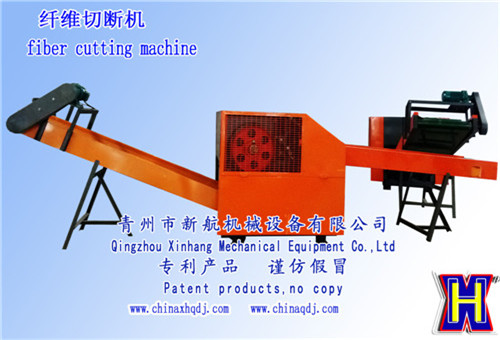 cutting and shredding machine for textiles