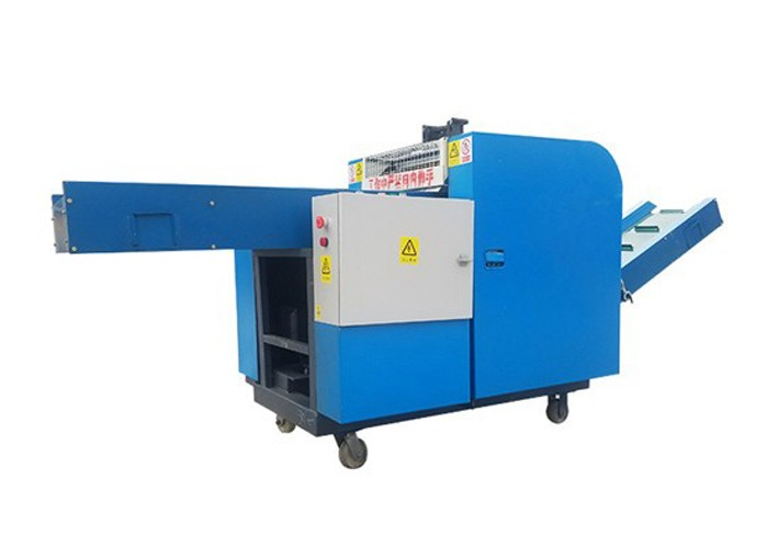 Cutter Shredder Machine For Textiles And Fabrics