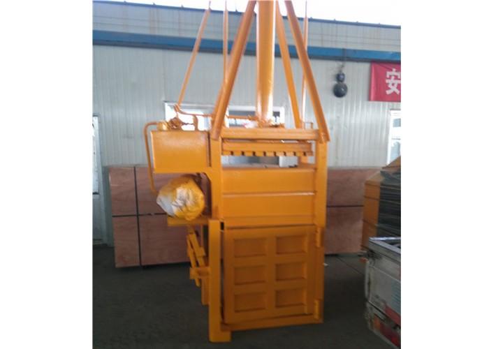 Vertikale hydraulische Ballenpresse