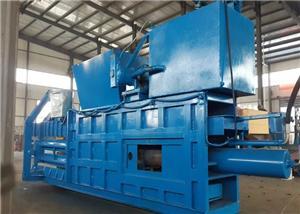 Waste Paper Cardboard Carton Compactor Baling Machine