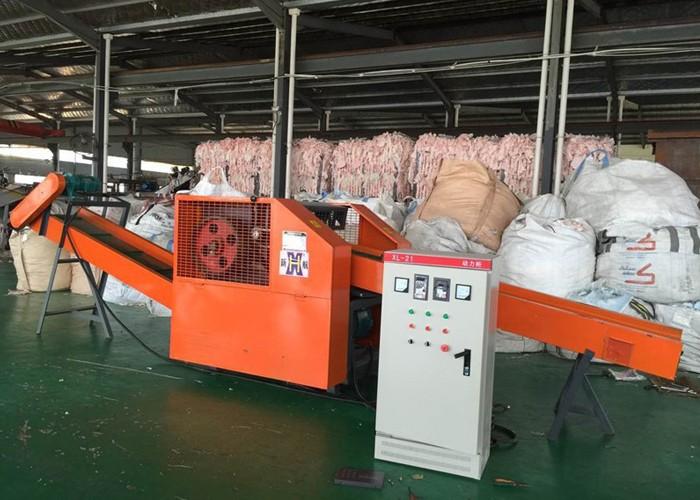 Machine de découpe de fibres multifilaments Pp