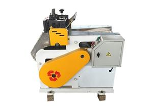 Guillotine type fiber cutting machine for carbon fiber