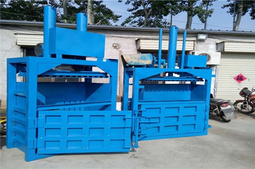 Waste paper baler inefficiency reasons and selection considerations