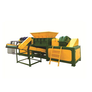 Metal Wood Plastic Tire Double Shaft Shredder