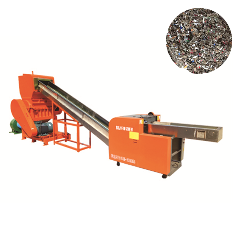 Industrial cutter shredder for paper
