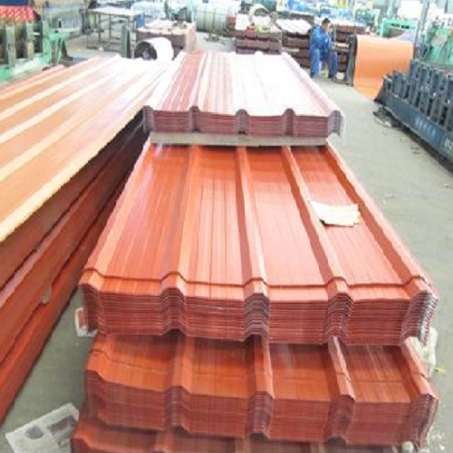 PPGI PPGL Corrugated Roofing Sheet