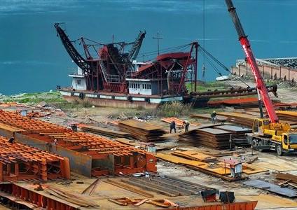 世界のトップ製鋼業者、中国の減速は需要に応じて