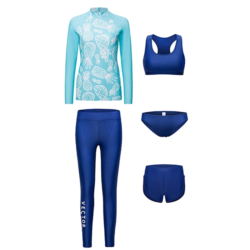 SCR Fabric Wetsuit Diving Suit For Unisex