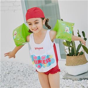 Ultra Thin Mini Swimwear Cute Kids Swimwear Screen Printing Swimwear