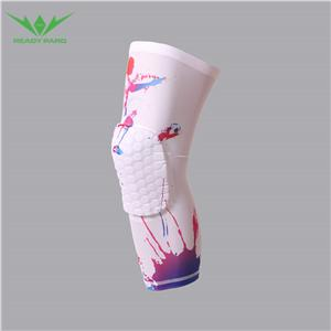 2020 Quick Dry And Plus Size Silk Print Knee Pad