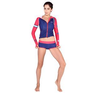 Swimwear Red Add Blue Design Swimwear Men Add Cup Size Swimwear