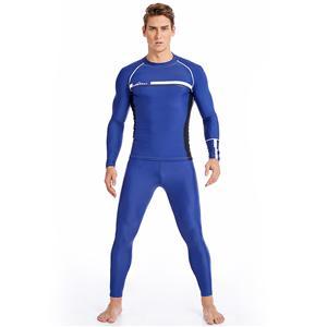 swimwear men's pants with t-shirt one suit design